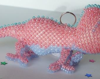 Chameleon, bag charm keychain