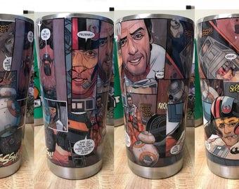Star Wars - Poe Dameron - 20oz Tumbler Mug