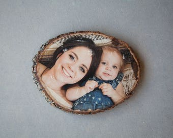 Personalized Handmade Wooden Photo Gift