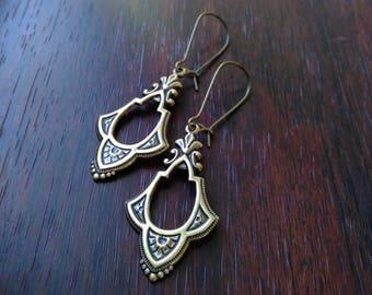 Art Deco style earrings / Art Nouveau