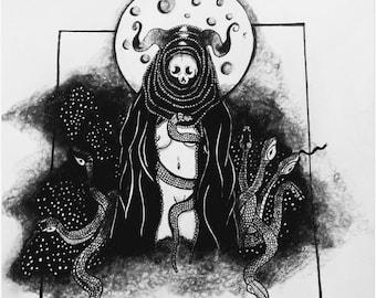 Night Terror Print