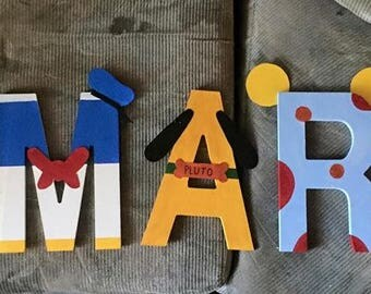 custom letters baby and kids
