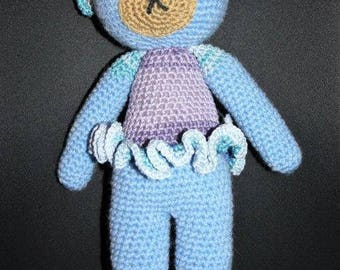 BLUE the little bear cotton Tutu