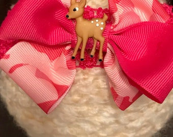 Pink Camouflage, baby deer