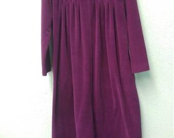 Vintage Purple Nightdress