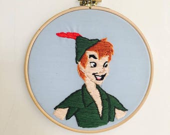 Disney Peter Pan Embroidery