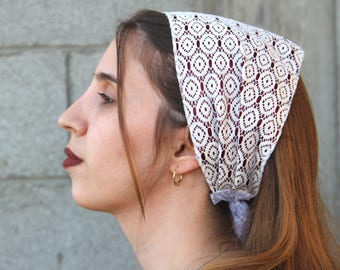 Jewish Headband For Women Jewish Hair Accessories Jewish Hair Covering Satin Headbands For Women White Headband Wide Headband For Women
