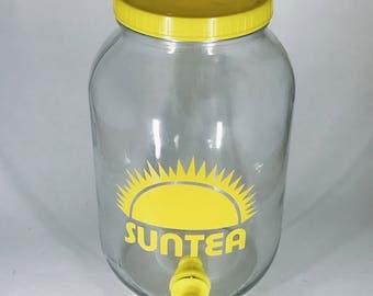 Sun Tea 1 Gallon Jar w/ Spigot