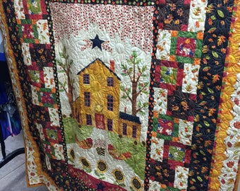 Panel Quilt/ Wholecloth