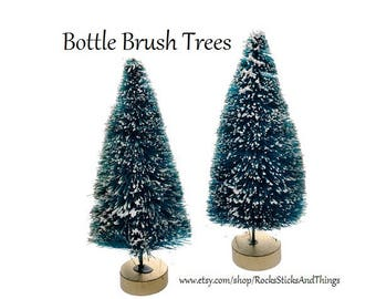 Bottle Brush Trees, Fairy Garden Trees