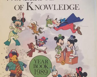 Disney's Wonderful World of Knowledge 1989 Year Book