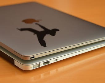 The Martial Arts Punch Decal Sticker for Macbooks and other Laptops, Goju Ryu, Muay Thai,  Jiu Jitsu,  Shotokan, Shukokai, Kendo, mac