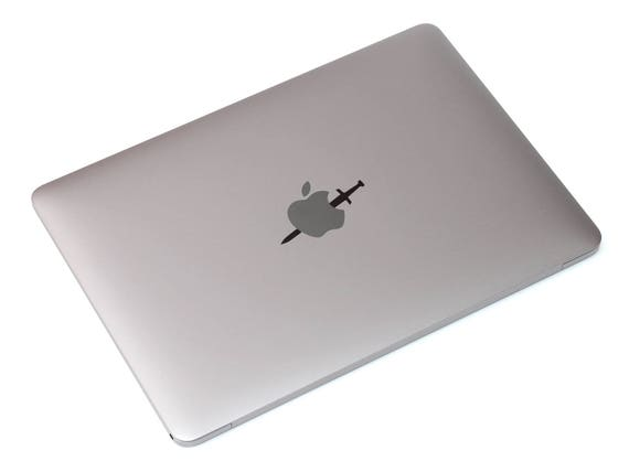 Death by the sword Decal for Macbooks and other Laptops, Jesus, Teachings, Honor, Justice, karma, mac