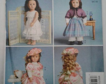 McCALL'S  Pattern M9073 Fits American Girl & other 18 inch dolls