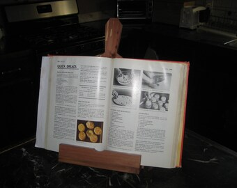 Wooden Recipe Book Stand