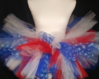 American Pride Tutu and Hair Bow