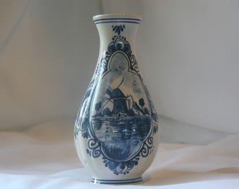 Delft Blue Vase