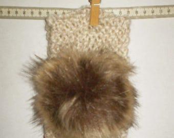 baby girl ear warmer knit headband