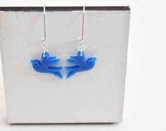 Bird Drop Earrings