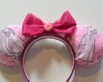 Pretty in Pink Princess Ears