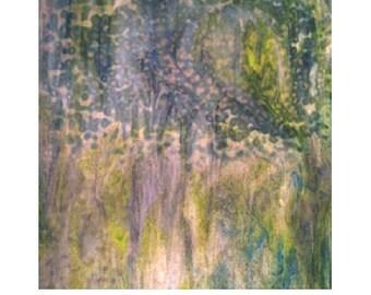 A Monet Memory Square Scarf