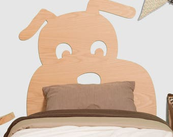 Puppy dog headboard