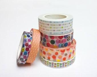 masking tape dots pattern * 5, 7 or 10 meter * pattern