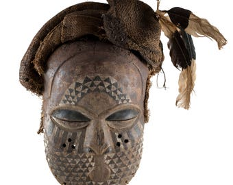 Kuba mask, Democratic Republic of the Congo
