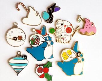 2017 Holiday Standard Grade Pins - Ghibli Inspired - Enamel Pin