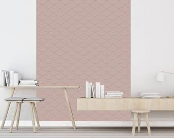 gatsby beige papier peint adh sif repositionnable. Black Bedroom Furniture Sets. Home Design Ideas