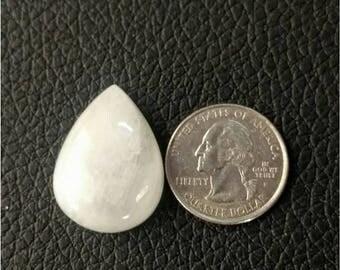 29.41 x 27.71 MM,Pear Rainbow Moonstone/wire wrap stone/moonstone Cabochon/,silver jewelry/ Pear moonstone cabochon/AAA  Moonstone/ cabochon