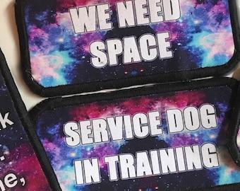 Galaxy Service Dog Patch