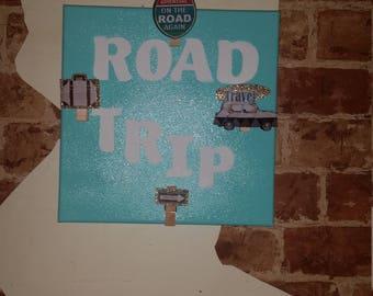 "10"" x 10"" Road Trip Photo Frame Sign"