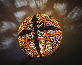 Gourd lamp, Calabash lamp, Luxury art lamp, Wooden art lamp
