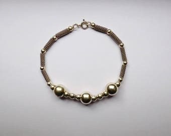 Spirit bracelet Bohemian silver design beads