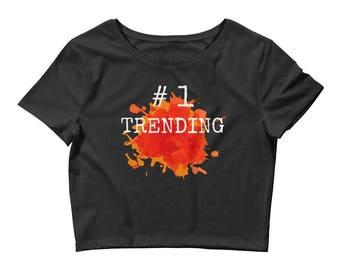 Trending Tops Women's Crop Tee