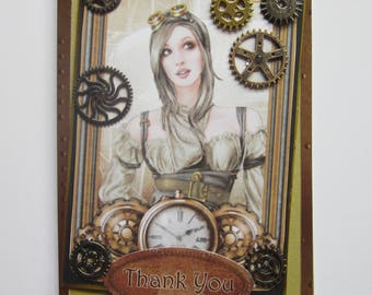 Thank you---------Steampunk Style