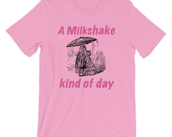 A Milkshake Kind Of Day Spartees Short-Sleeve Unisex T-Shirt