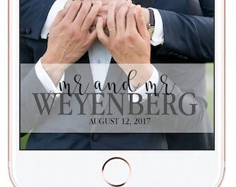 Wedding Snapchat Geofilter #6
