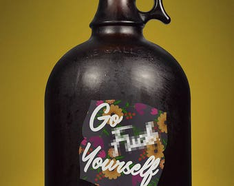 Go F*** Yourself Decal/Sticker