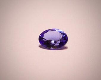 9x7  Tanzanite Gemstone  December birthstone