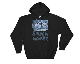 The upside down hoodie, Shadow monster hoodie, Stranger things sweatshirt for men, The upside down world sweater, Stranger things hoody