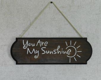 You Are My Sunshine - Wood Sign - Wooden Sign - Nursery Decor - Home Decor - Custom Wood Sign - Rustic Home Decor - Farmhouse Decor