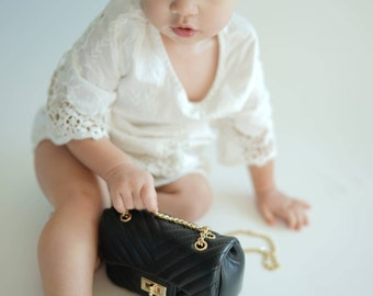 Kids Chanel inspired Purse, Toddler purse, kids purse, baby chanel