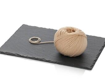 Beige Soft Wool Yarn - Superwash Merino DK Yarn - Beige Knitting Yarn 8ply - Light Worsted Merino Yarn - Beige Crochet Yarn - Easy Wool Yarn