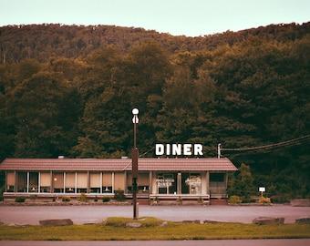 Phoenicia Diner, The Catskill - Fine Art Photograph