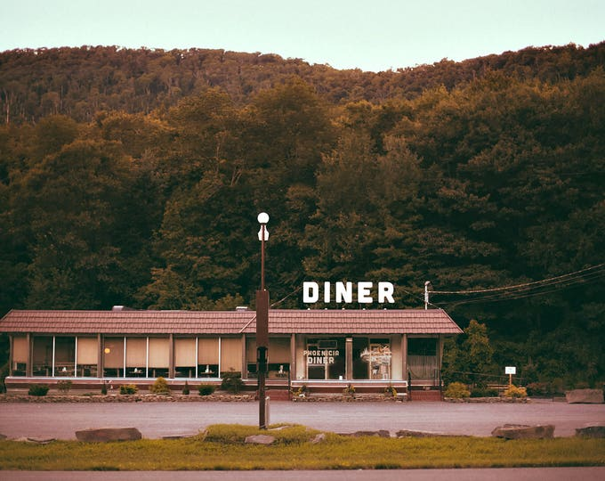 Phoenicia Diner, The Catskill - Fine Art Photograph