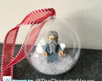 Dumbledore LEGO Christmas Tree Ornament