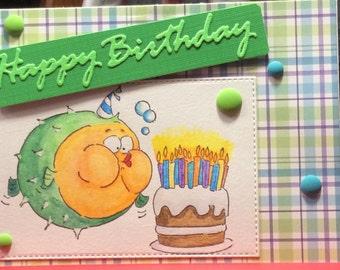 Puffer fish birthday