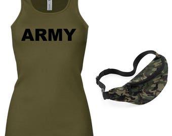 ARMY Ladies Vest & Belt Bag